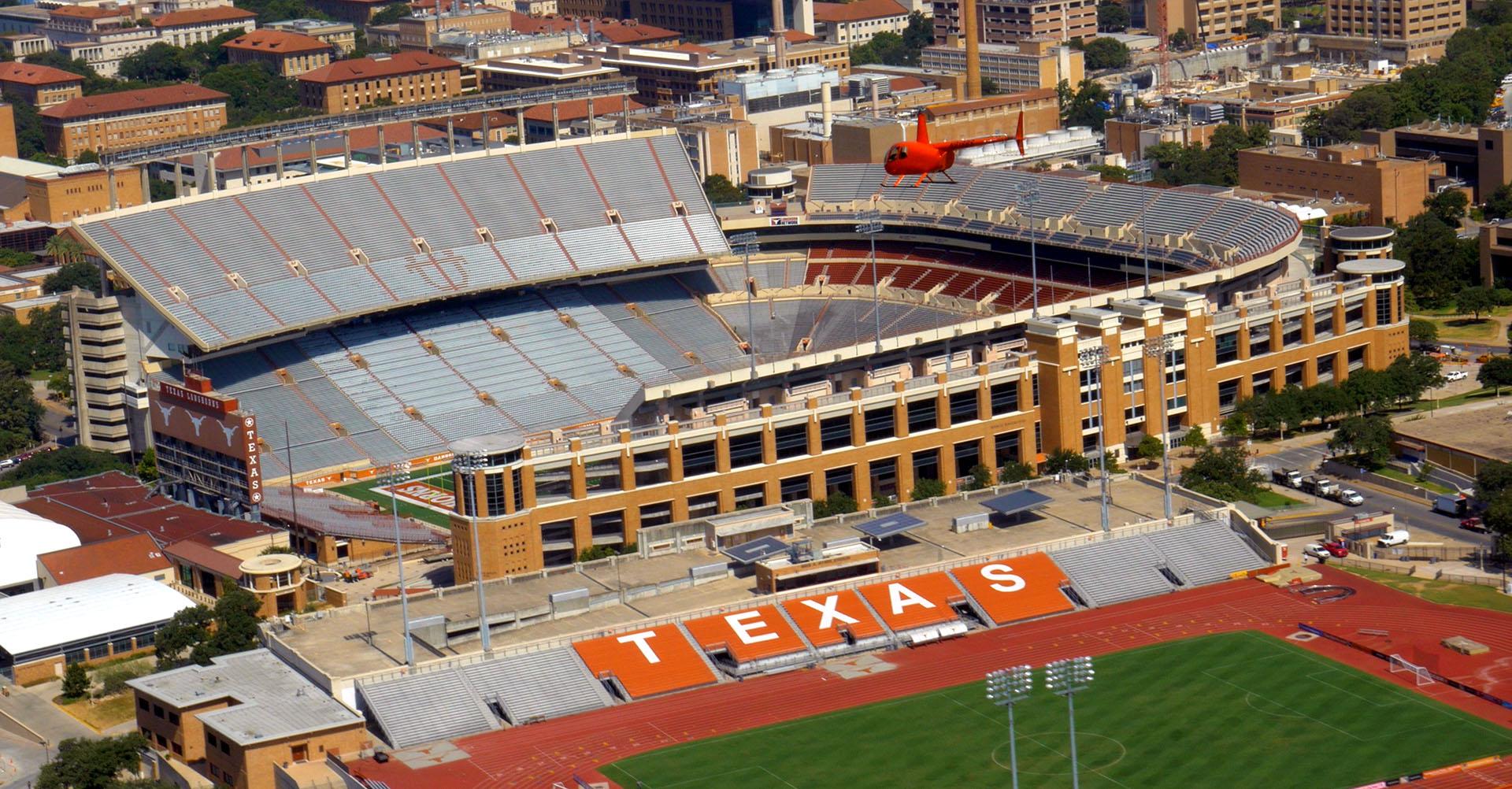 Austin City Limits Tour  Helicopter Tours Austin TX